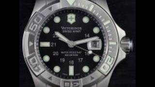 getlinkyoutube.com-Victorinox Dive Master 500M Video Watch Review