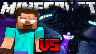 getlinkyoutube.com-Herobrine VS Witherstorm -THE  BOSS BATTLE (Minecraft Machinima)