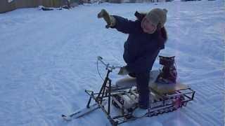 getlinkyoutube.com-снегоход на дружбе