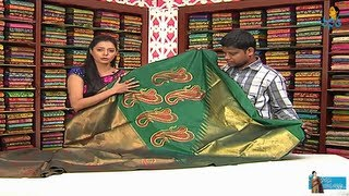 getlinkyoutube.com-Banarasi Sarees with Price | Sogasu Chuda Tarama | Vanitha Tv