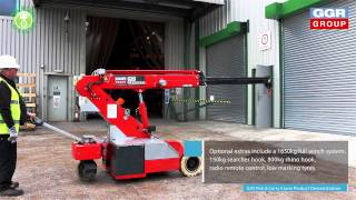 G20 Pick & Carry Crane Product Demonstration