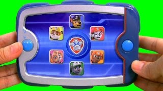 getlinkyoutube.com-Paw Patrol Ryder's Puppy Pad with Chase, Marshall, Skyle, Rocky, Zuma, Rubble Nickelodeon toys