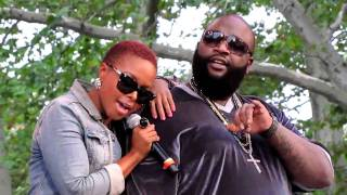 Chrisette Michele & Rick Ross (live)