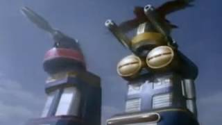 getlinkyoutube.com-Power Rangers Zeo - All Megazord Transformations