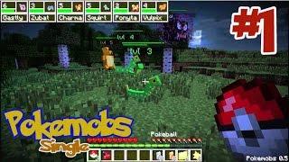 getlinkyoutube.com-Minecraft Pokemobs (มายคราฟ โปเกม็อบ) #1 เริ่มต้นในโลก โปเกม่อน !