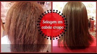getlinkyoutube.com-Selagem em cabelo crespo - Confira o resultado!