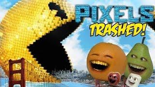 getlinkyoutube.com-Annoying Orange - PIXELS TRAILER Trashed!!