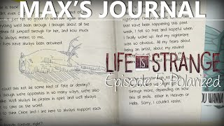 getlinkyoutube.com-Life Is Strange Episode 5 MAX'S JOURNAL + NIGHTMARE JOURNAL TEXTS | Polarized