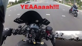getlinkyoutube.com-Naked Fun: CB1000R plays with MV Agusta Brutale 1090RR