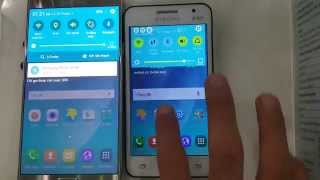getlinkyoutube.com-Note 5 vs Core 2 Lollipop Rom