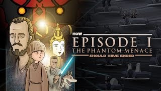 flushyoutube.com-How Star Wars The Phantom Menace Should Have Ended