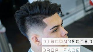 getlinkyoutube.com-Mens Haircut: Disconnected Undercut Drop Fade