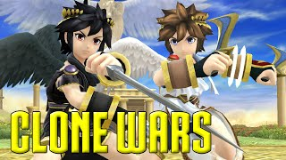 getlinkyoutube.com-Clone Wars: Pit VS. Dark Pit (The Differences)