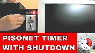 getlinkyoutube.com-Pisonet Coin Operated Timer for PC with shutdown Demo