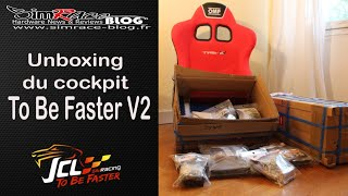 getlinkyoutube.com-Unboxing Cockpit To Be Faster V2 de JCL Simracing V2 - Simrace Blog