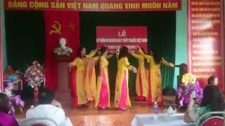 getlinkyoutube.com-Múa: Bài ca người phụ nữ Việt Nam - Khu 5 Yên Lương Thanh Sơn PT
