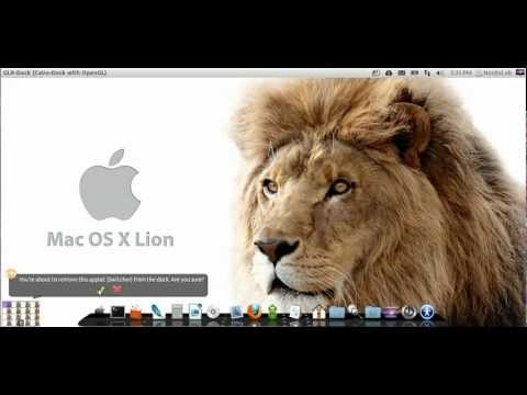 Install Mac OS X Lion theme on Ubuntu 12.04 Precise Pangolin/Ubuntu 12.10 Quantal/Linux Mint 13/12