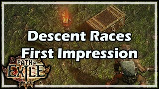 getlinkyoutube.com-[Path of Exile] Descent Races First Impression