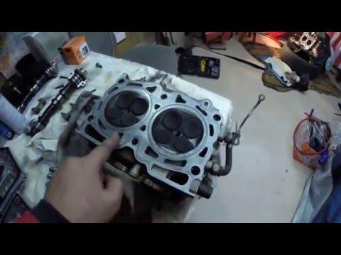 Сборка мотора EJ206 (Subaru Legacy Blitzen 2002)