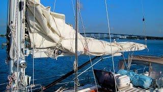 getlinkyoutube.com-Sailing Basics - How to Reef Your Mainsail the Right Way