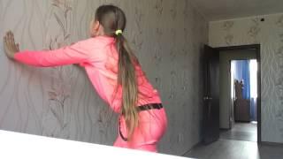 getlinkyoutube.com-Как сделать гимнастический переворот на локтях.