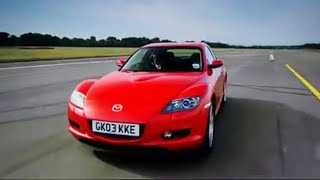 getlinkyoutube.com-Mazda RX8 car review - Top Gear - BBC autos
