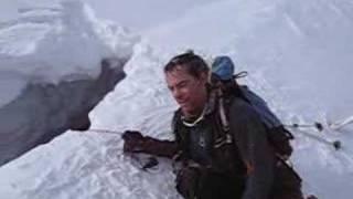 getlinkyoutube.com-Skier Falls into Crevasse - Hangs by one toepiece