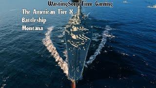 getlinkyoutube.com-Montana Battleship gameplay World of Warships