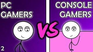 PC Gamers VS Console Gamers (Here We Go Again)