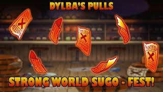 getlinkyoutube.com-STRONG WORLD SUGO-FEST! LEGEND HYPE! (One Piece Treasure Cruise - Global)