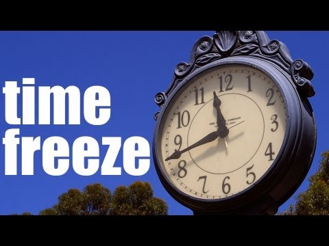 Time Freeze / Time Stop Tutorial: Sony Vegas Pro 11
