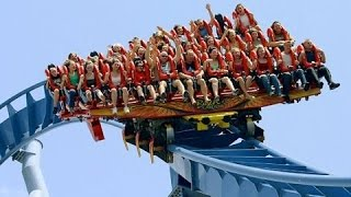 FIRST EXPERIENCE!! RIDE ON A ROLLER COASTER AT JAMUNA FUTURE PARK