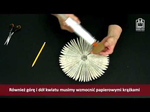 Papierowe inspiracje - cz. 4 - kwiaty z papieru