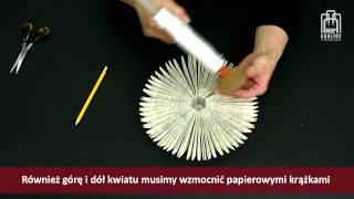 getlinkyoutube.com-Papierowe inspiracje - cz. 4 - kwiaty z papieru