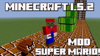 getlinkyoutube.com-Minecraft 1.5.2 MOD SUPER MARIO!