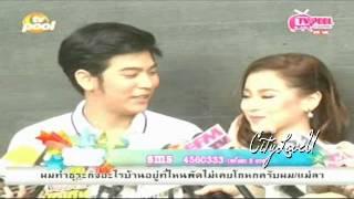 getlinkyoutube.com-พอร์ช - ใบเฟิร์น หลังบวงสรวง คุณผีที่รัก @ TVPOOL 23-01-57