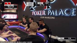 High Roller Event Day 2 part 1