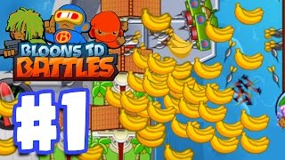 getlinkyoutube.com-SO MUCH MONEY SO QUICKLY! | Bloons TD Battles Gameplay Walkthrough Part 1