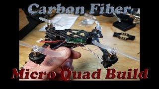 getlinkyoutube.com-How To Build A Carbon Fiber Micro Quad Using Your Hubsan & Phoenix Flight Gear Frame