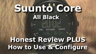 getlinkyoutube.com-Suunto Core All Black ABC Watch - Honest Review and Setup Tips