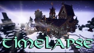 getlinkyoutube.com-Minecraft Timelapse - Orden der Nordlichter feat. Wintershelm