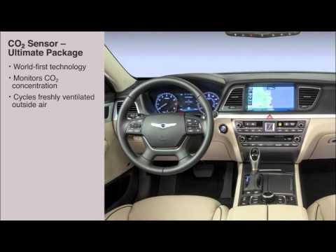 2016 Hyundai Genesis - Climate Controls