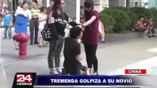 getlinkyoutube.com-Chica golpeando a novio Infiel - Nivel Asiatico