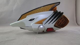 getlinkyoutube.com-Retro Review: White Drago Morpher (Power Rangers Dino Thunder)