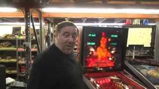 getlinkyoutube.com-#764 Gottlieb MARS GOD OF WAR Pinball Machine with Infinity Backglass - TNT Amusements