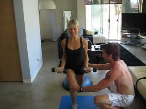 Kaos Calorie burning workout with celebrity trainer Tim Trost (Part I)