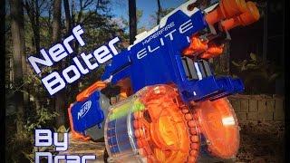 getlinkyoutube.com-Nerf Mod: The STORM BOLTER (Dual Hyperfire ROF Monster)