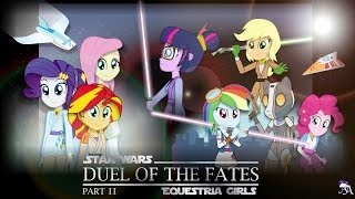 getlinkyoutube.com-Duel of the Fates : Part 2 [MLP: Equestria Girls x Star Wars Crossover Animation]