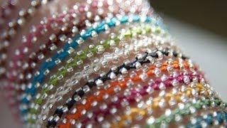 getlinkyoutube.com-Beaded bracelet - Bracelet de perles