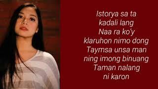Malaya Macaraeg- BAGA KA'G FACE (Lyrics)